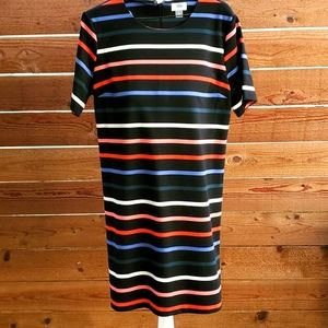 Old Navy multistriped knit sheathdress